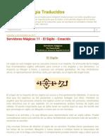 Textos de Magia Traducidos_ Servidores Mágicos 11 - El Sigilo - Creación