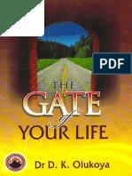 The Gate of Your Life - D. K. Olukoya
