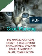 002.Pre-natal & Post-natal Growth & Development of Maxilla