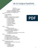 Morfología de La Lengua Española_resumen
