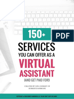 150+ Services You Can Offer As a VA