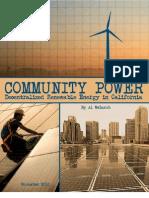 Community Power by Al Weinrub 10-14-10