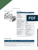 Bean Pump W11-Data Sheet