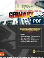 Top Network Marketing Companies in Germany