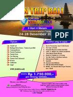 Open Trip Bali