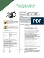 Advantage 420 Datasheet - ES