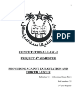 Constitutional Project