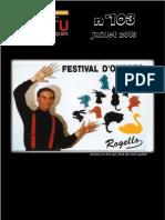 ACTU Des Arts Maques,n.103-2013