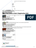 5-Step Guide to Voter's Registration 2019