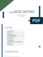 Squeeze Casting
