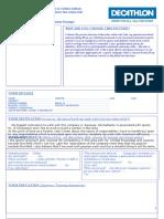 Decathlon form