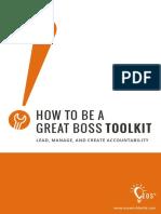 EOS Great Boss Toolkit