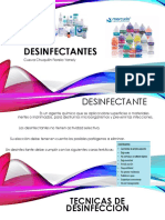Desinfect Antes
