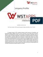 Company Profile- Services