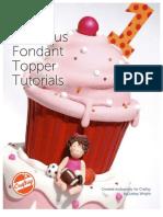 Fabulous fondant topper tutorials