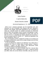 Artigos espíritas - Ernesto