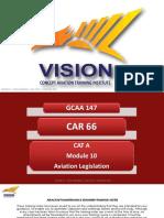 Module 10 - Aviation Legislation