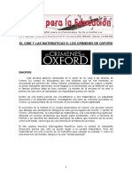 Crimenes de Oxford