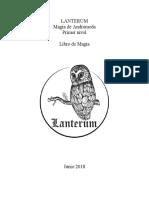 Magia Lanterum Libro Nivel1, 2018 (Esp)