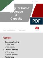 4. Planning for Radio Coverage & Capacity 2.0