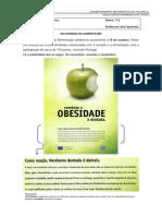 Ficha de Trabalho Formativa - Português - 7º B