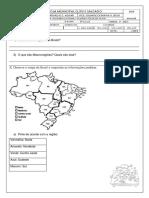 Quais São as Regiões Do Brasilprova 5 Ano