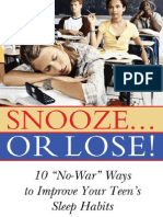 Snooze-- or Lose_0309101891