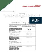 Anexa nr. 1 la normele metodologice