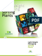ECOEMBES Light Weight Packaging Sorting Plants (Complete Document)