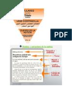 La Noticia Pirámide y Ejemplo
