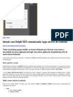 Intents Com Delphi XE5 Comunicando Apps Através Do Android