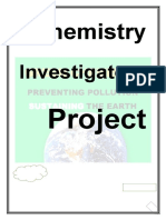 Project on Green Chemistry