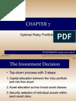 TPM_Kumala Hadi_Chapter 7 Optimal Risky Portfolios.ppt