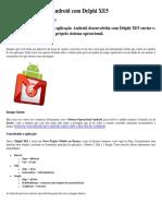 Enviando E-mail No Android Com Delphi XE5