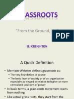 Grassroots Movement 1