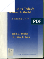 (Michigan Series In English For Academic & Professional Purposes) John M. Swales, Christine Feak - English in Today's Research World_ A Writing Guide-University of Michigan Press (2000).pdf
