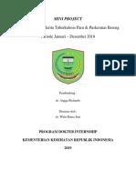 Karakteristik Penderita TB Paru PKM Bereng 2018 (Dr. Wida)
