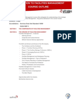 Introduction to Facilities Management Course Outline v1