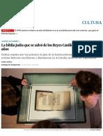 Una Biblia Hebrea de 500 Años