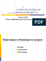 CONSTRUCTION FEATURES OF HYDROPOWER PROJECTS.ppt