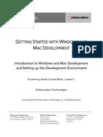 e Learning Series Win Mac Development Coursebook Lesson1