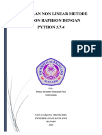 Tugas 10 Newton Raphson Denny