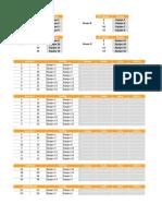 Plantilla Excel Torneos Grupos Eliminatorias 16 Equipos