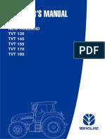 Tvt Series Operator Manual