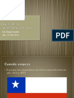 Causas de La Independencia de Chile