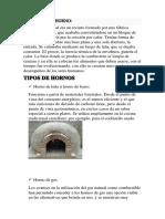 Historia Del Horno