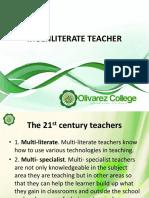 Multiliterate-Teacher.ppt