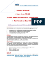[Sep-2019] New PassLeader AZ-103 Exam Dumps