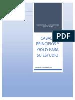 CABALA PRINCIPIOS Y PASOS PARA SU ESTUDIO
