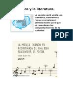 La Música y La Literatura